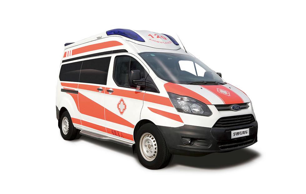 新全顺豪华版智能救护车