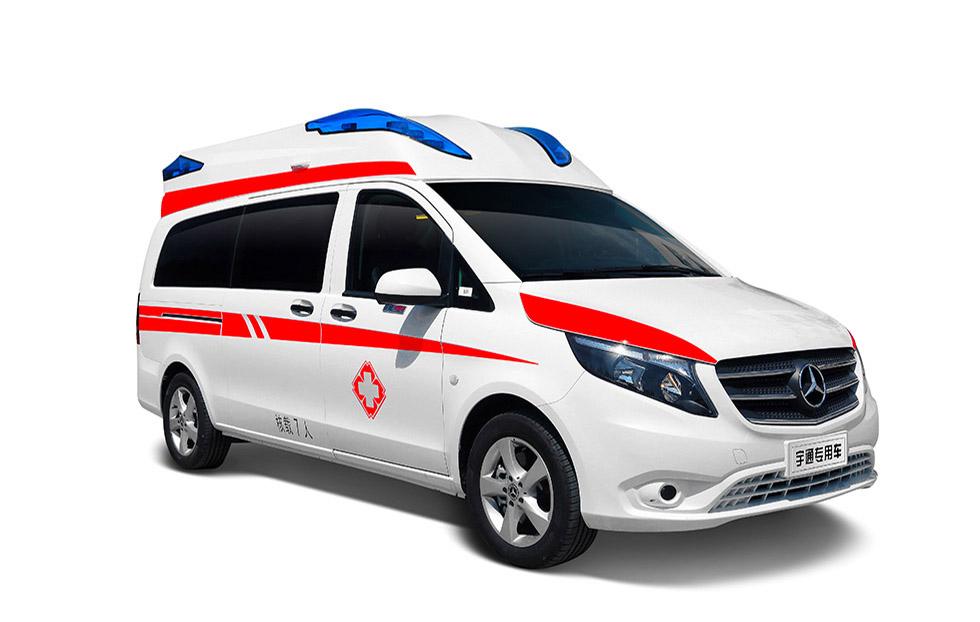 奔驰威霆领航版监护型救护车