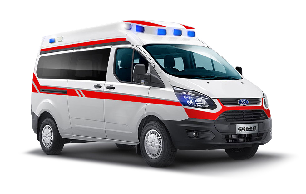 新全顺领航版监护救护车
