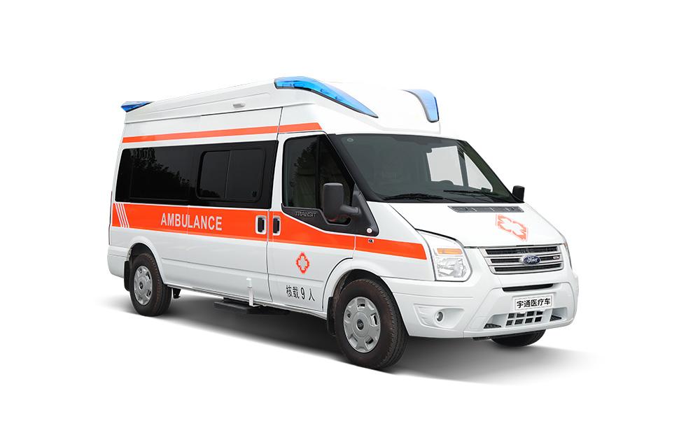 新世代全顺领航版监护救护车